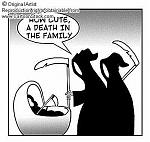 comment mignon, un mort dans la famille
